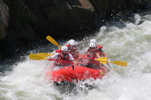 Top 10 things to do in Colorado - rafting!