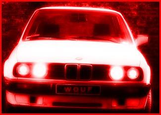 bmw lumière rouge