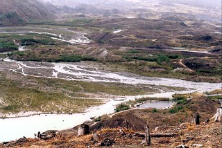 The Toutle River Valley Near Mount St. Helens