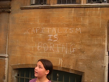 Capitalism is Boring