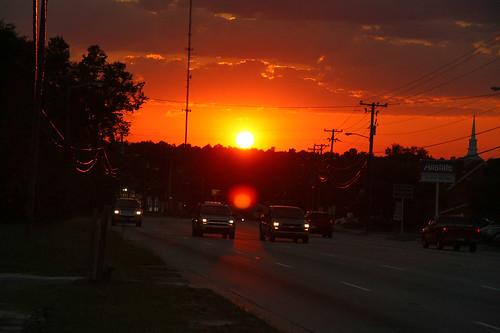 sunset outdoor northcarolina canonxsi