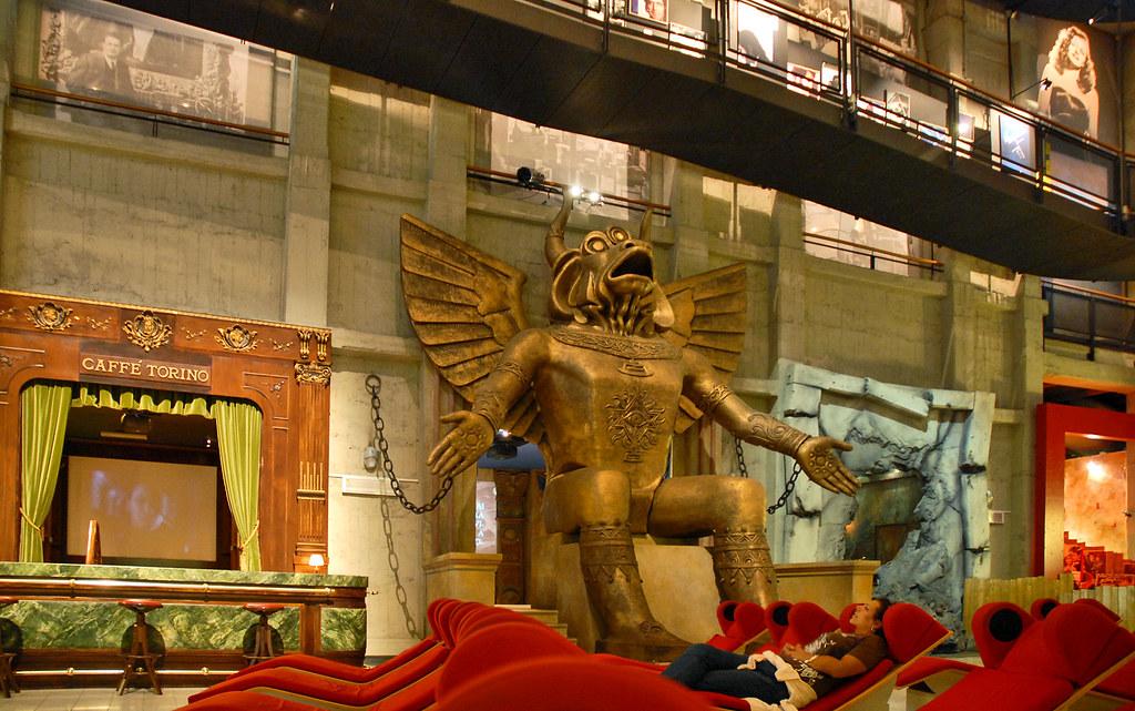 > Exposition du musée du cinéma à Turin - Photo de Jean Pierre Dalbéra