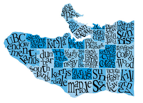 sunset vancouver typography design graphics downtown map text mountpleasant killarney type kitsilano blah stanleypark strathcona dtes kerrisdale westend oakridge fairview districts marpole hastingssunrise kensingtoncedarcottage shaughnessy neighbourhoods ubcendowmentlands arbutusridge westpointgrey victoriafraserview grandviewwoodland renfrewcollingwood rileyparklittlemountain southcambie dunbarsouthlands