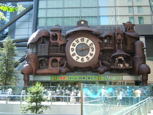 Reloj de Miyasaki