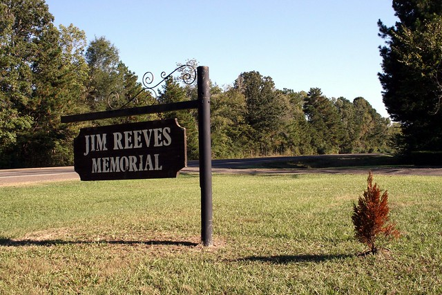 Jim reeves memorial sign flickr photo sharing for Jim s dog house