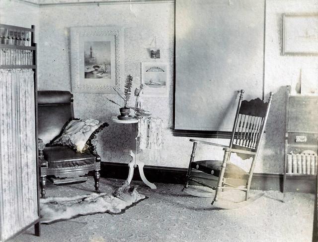 Livingroom - John and Caroline Sweetser 1890