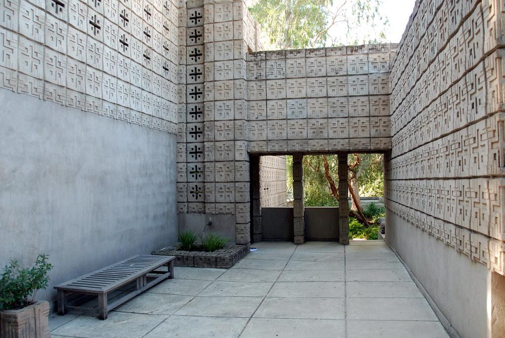 Millard House, Frank Lloyd Wright 1923