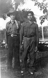 Jimmie Cypress and Big Charlie Osceola