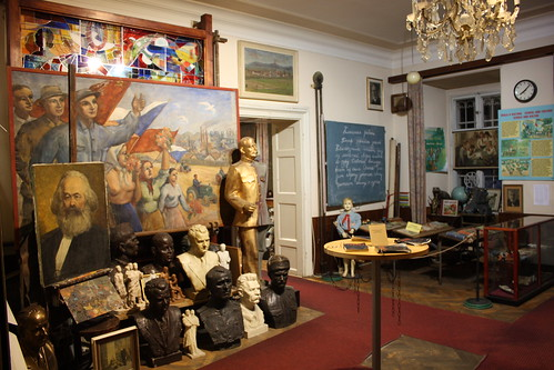 Exhibition at the Museum of Communism