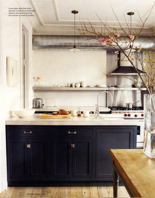 Black Slate Kitchen Floor Tiles