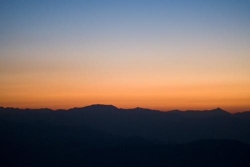 travel sky orange india holiday sunrise landscape asia darjeeling westbengal tigerhill queenofthehills jalapahar