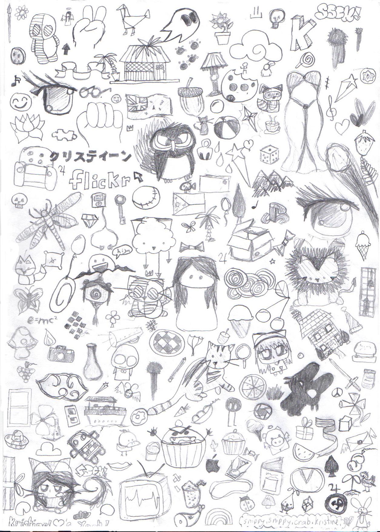 Cute pictures of random stuff for Random cute drawings