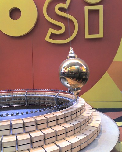 Giant Pendulum: COSI in Columbus Ohio