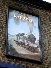Railway, Tulse Hill, SE27