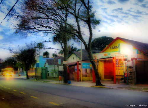street bus sunrise portoalegre orton fhdr
