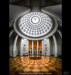Württemberg Mausoleum - Stuttgart, Germany (HDR Vertorama)