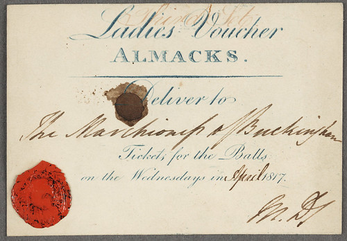 Voucher to Almack's