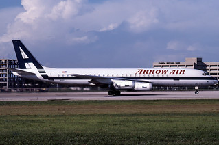 Arrow Air DC-8-62H N1807