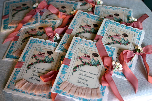 Birthday Tea Party Invitations...