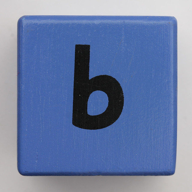 Alphabet Block b | Flickr - Photo Sharing!