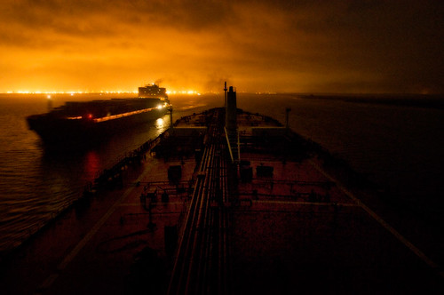 Ships Passing at Night