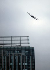 Lancaster Bomber Over Manchester Veteran's Day