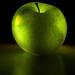 Glowing apple by Masood Sharif
