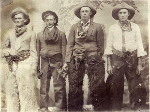 Four Cowboys? (detail)