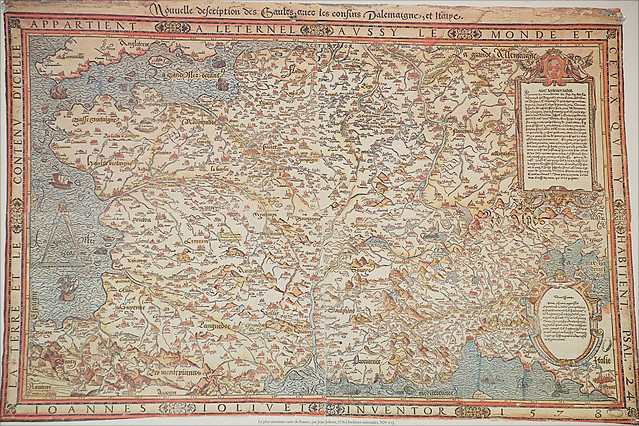 The oldest known map of France Flickr Photo Sharing