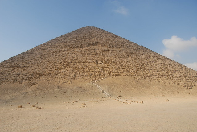 Entrance to the Red Pyramid (Dahshur)