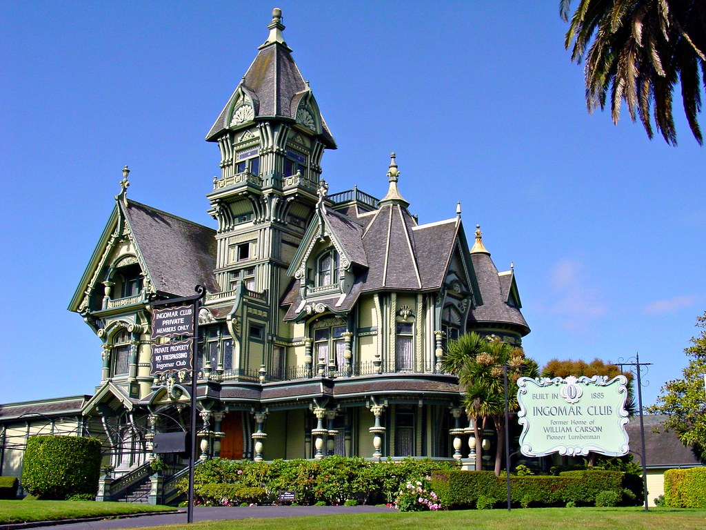 Carson mansion a photo on flickriver for Eureka house
