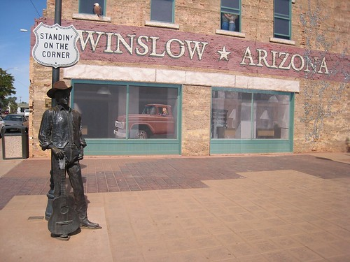 i was standing on the corner of winslow arizona. Black Bedroom Furniture Sets. Home Design Ideas