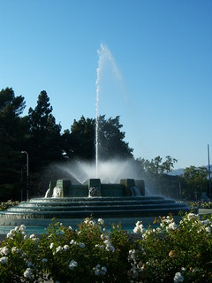 Image of William Mulholland Memorial. ca fountain losangeles memorial griffithpark williamhulholland
