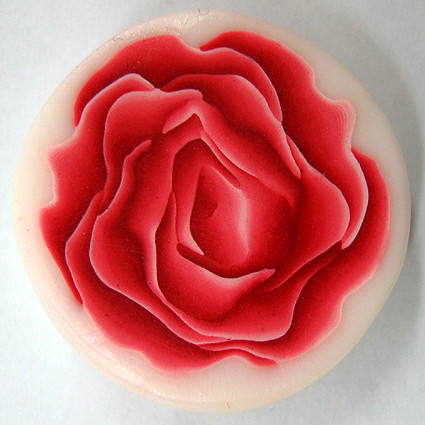 how to make a rose polymer clay canes