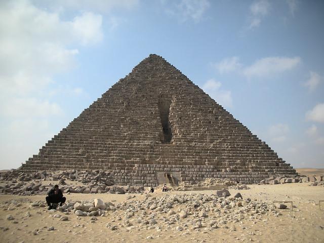 Egitto - Piramide di Micerino