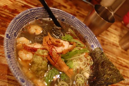 Japanese Ebi noodles