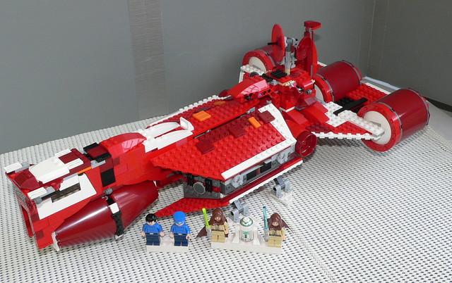Star Wars Lego 7665 Republic Cruiser 04 - a photo on ...