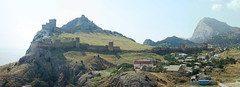 Genoese fortress sunny