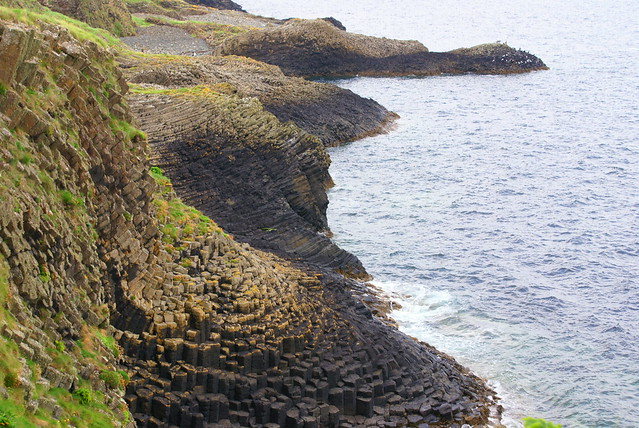 The Scottish Side of the Giant's Causeway