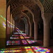Nasir-ol-Molk Mosque, Shiraz, Iran by Rowan Castle