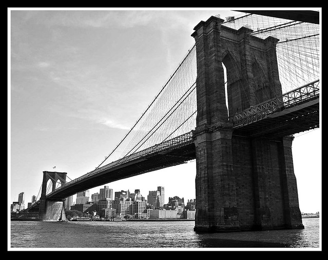 Black and White Brooklyn Bridge | Flickr - Photo Sharing!