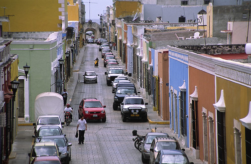 Campeche (Mexico) - Old street