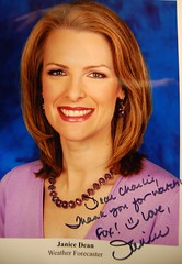 From my girlfriend and favorite weather chick