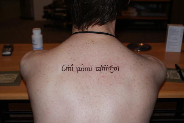Elvish Tattoos