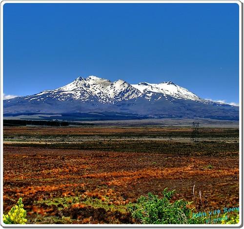 Mt Ruapehu Original Vertorama
