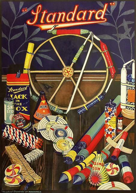 Retro Standard Firework Poster