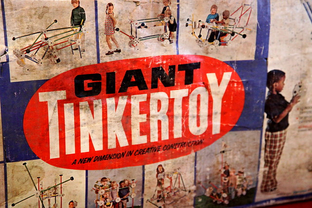 Giant Tinkertoys From The 1970s Flickr Photo Sharing