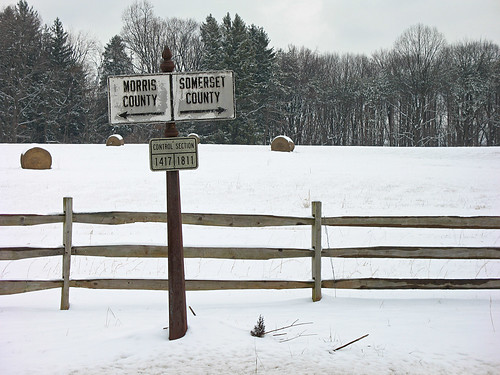 winter snow sign fence rust nj chester hay gladstone somersetcounty morriscounty route206
