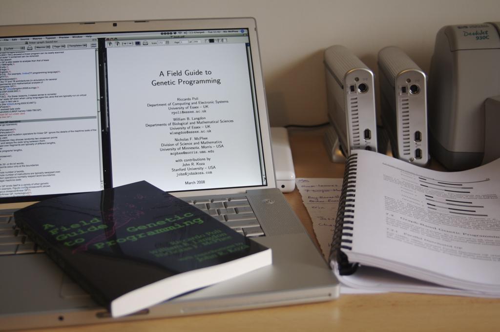 Computer & book