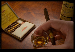 Whisky and cigars | threesixtyfive | day 261